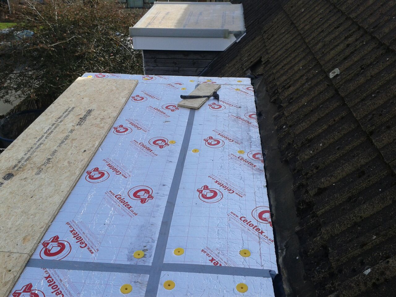 Install A Warm Roof Synergy Roofing