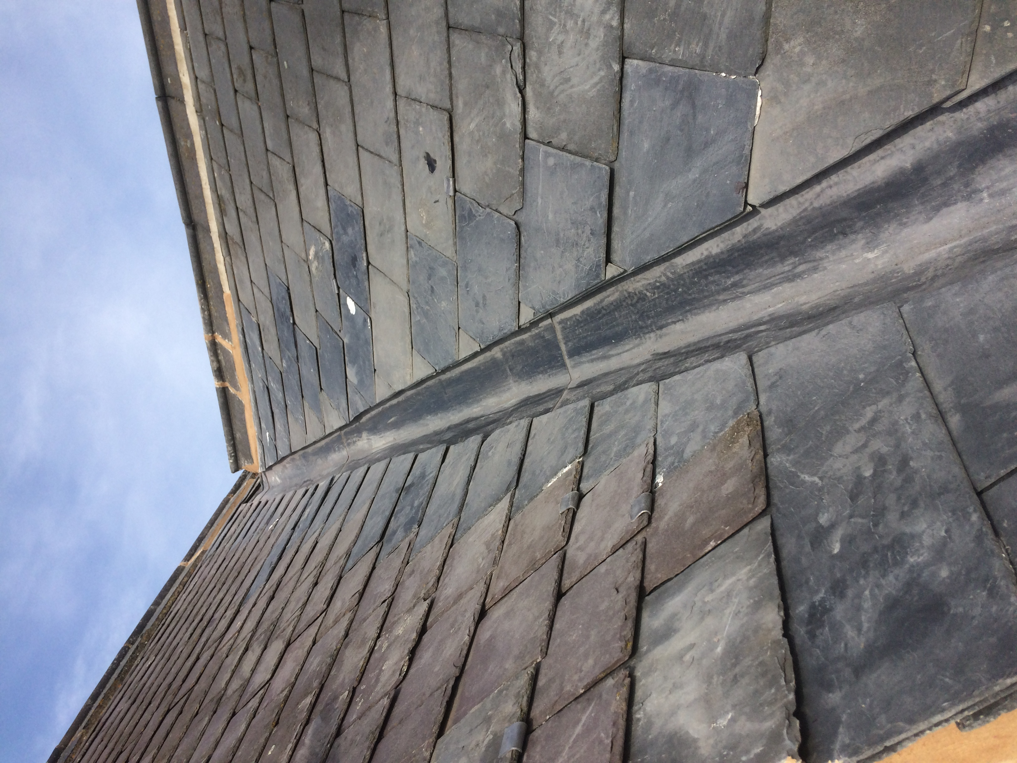 Lead Valley Install Synergy Roofing
