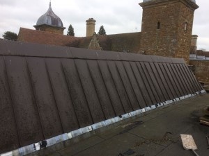 Maidwell hall felt and led replacement