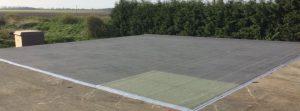 Finished Felt Roof